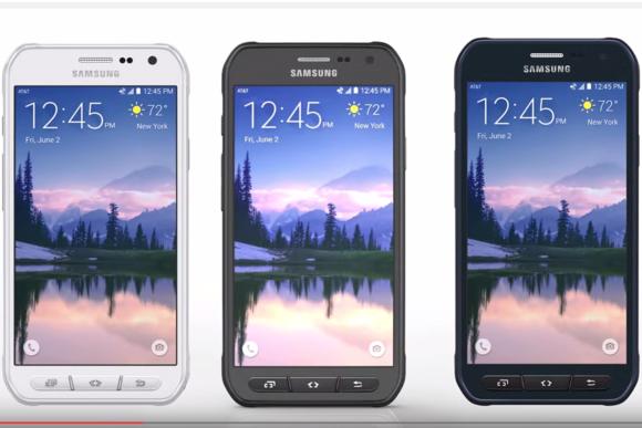 Có đến 3 nút bấm vật lý trên Galaxy S6 Active