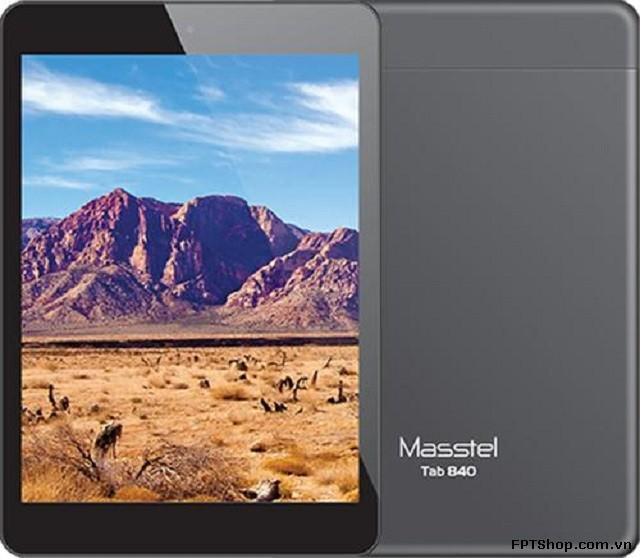 Masstel Tab 840 có thiết kế khá đẹp mắt