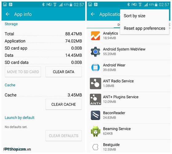 Tăng tốc Galaxy Note 4
