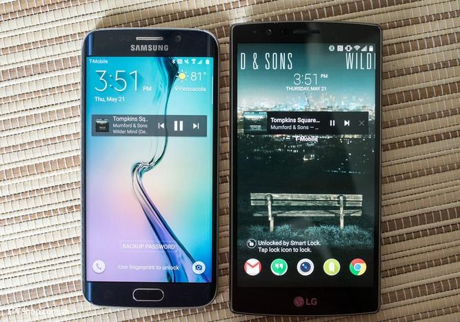 LG G4 và Galaxy S6