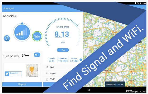 OpenSignal Maps