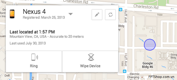 Ứng dụng Android Device Manager