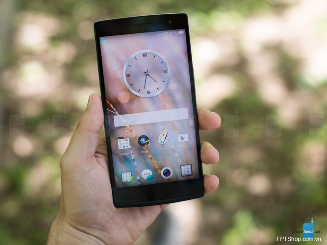 Thiết kế của Oppo Find  7