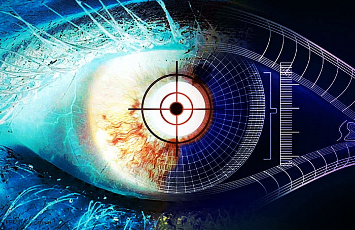 Công nghệ nhận diện mống mắt trên smartphone