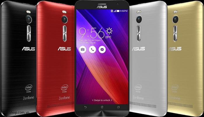 Thiết kế Asus ZenFone 2 có gì khác