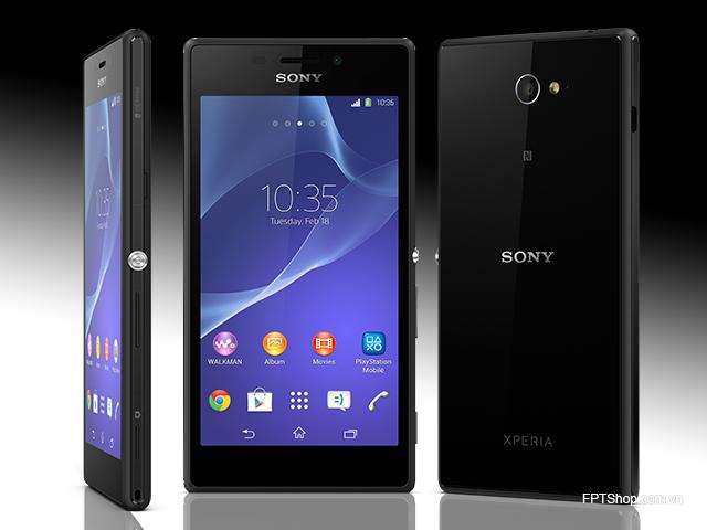 Thiết kế Sony Xperia M2