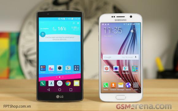 Điểm mạnh của Galaxy S6 so với LG G4