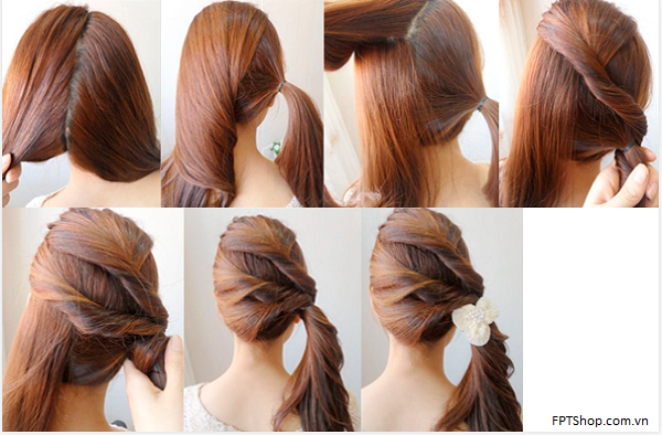Ứng dụng Girls Hairstyle Steps