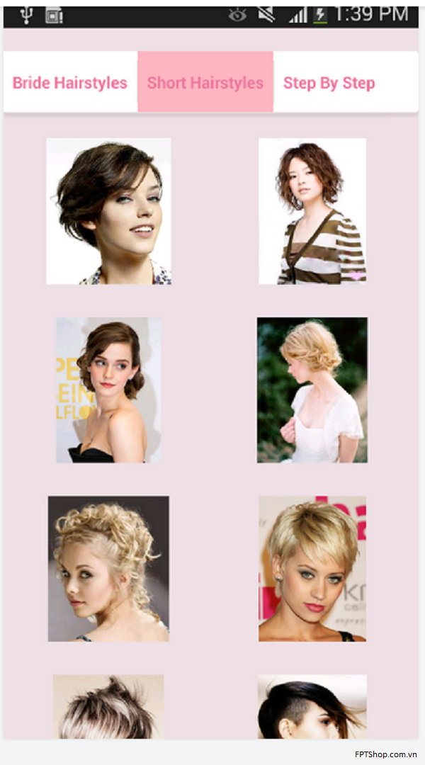 Hairstyles by mobileapps