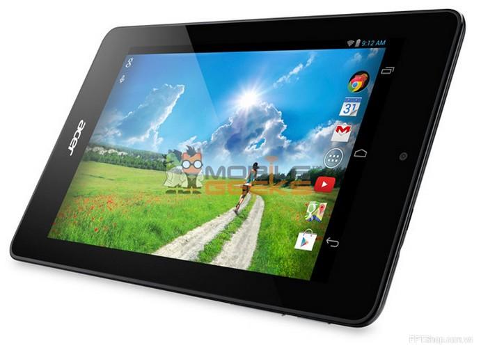 Vận hành nhanh chóng với bộ vi xử lý lõi kép Z2560 của Acer Iconia B1-730