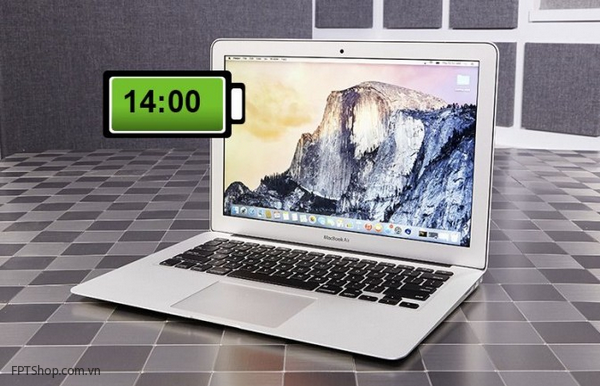 Macbook Air 13-inch (2015)-14 giờ