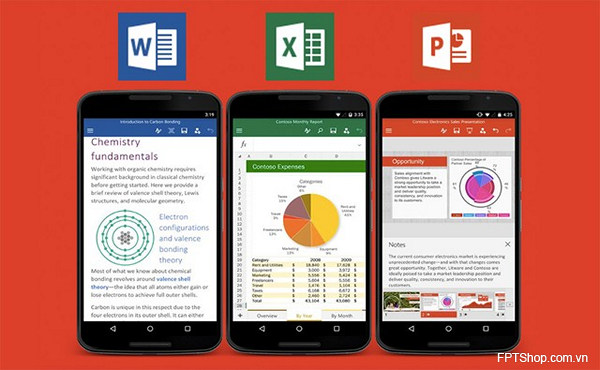 Microsoft Office phát hành cho điện thoại Android miễn phí
