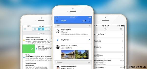 ứng dụng email trên iOS