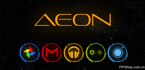 Ứng dụng Aeon Icon Pack