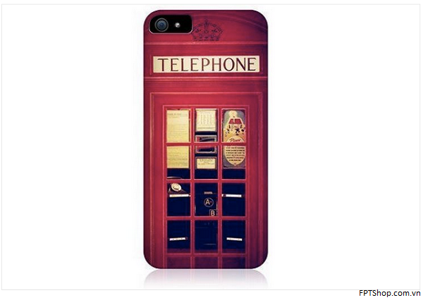 Red Telephone Booth Case