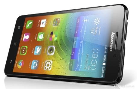 Lenovo A5000 sở hữu màn hình 5 inch, pin dung lượng 4.000mAh