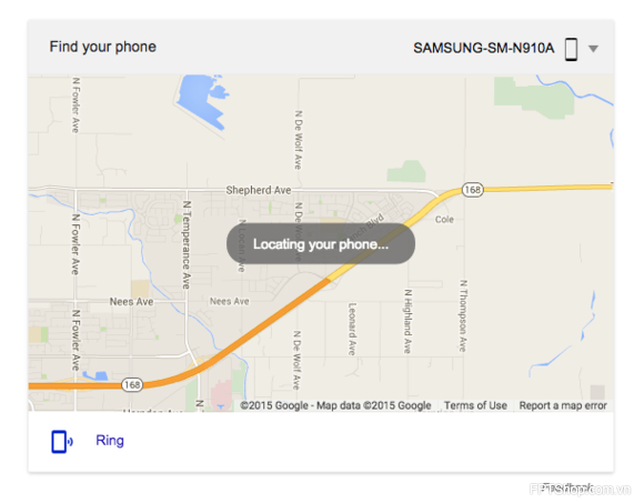 Android Device Manager của Google