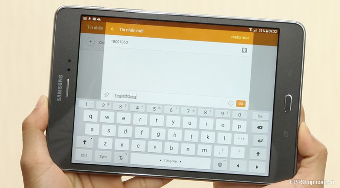 Cấu hình Samsung Galaxy Tab A 8 inch