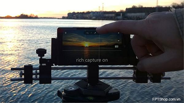 Tính năng quay video trên Windows 10 Mobile