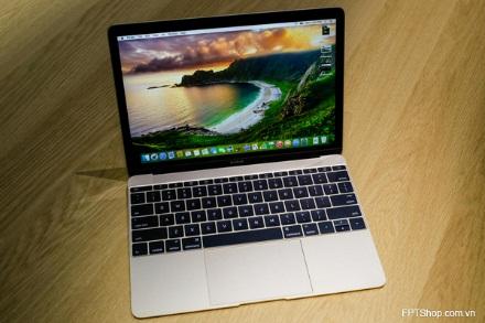 New MacBook 12 inch sở hữu vẻ đẹp sang trọng vốn có