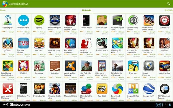 ứng dụng vô nghĩa không nên cài đặt trên máy Android