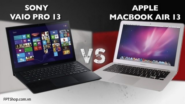 Sony Vaio pro 13 vs macbook air 13