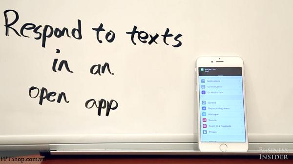 Trả lời tin nhắn khi đang mở một ứng dụng khác