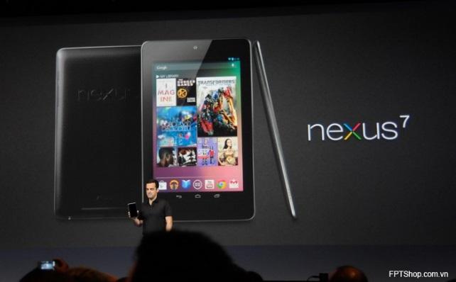 Google Nexus 7 được trang bị bộ vi xử lý Nvidia Tagra 3