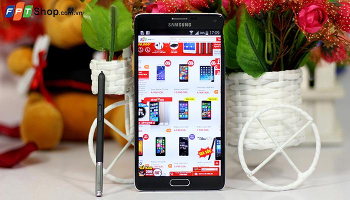 Samsung Galaxy Note 4 (giá bán13,99 triệu đồng)