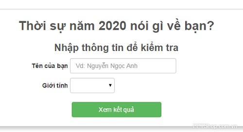Ứng dụng facebook: Thời sự năm 2020 nói gì về bạn