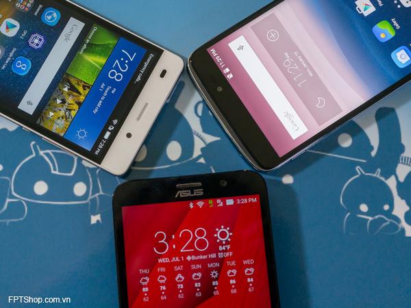 ASUS ZenFone 2, Alcatel Idol 3 và Huawei P8 Lite