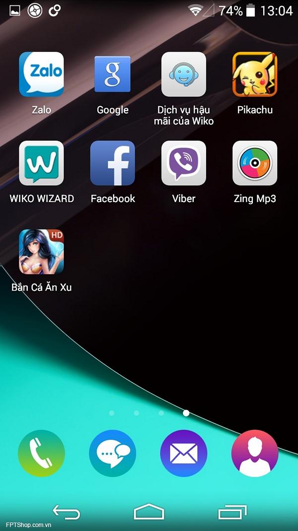 Giao diện MY OS 2.0 đơn giản đi kèm với nhóm biểu tượng vui nhộn
