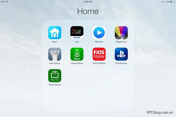 Apple cho phép lưu trữ nhiều ứng dụng hơn trên một thư mục