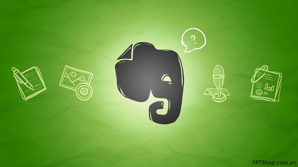 2. Ứng dụng ghi chú Evernote