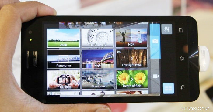 Ứng dụng camera của Asus ZenFone 5 A501