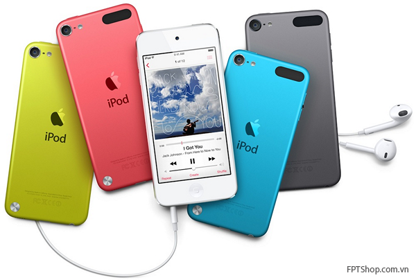 dòng máy iPod mới với nhiều tính năng hơn