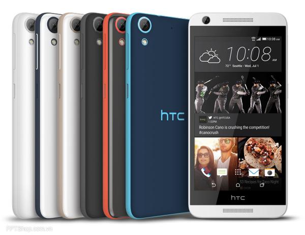 Giá bán và kế hoạch phát hành HTC Desire 520, 526, 626 và 626s