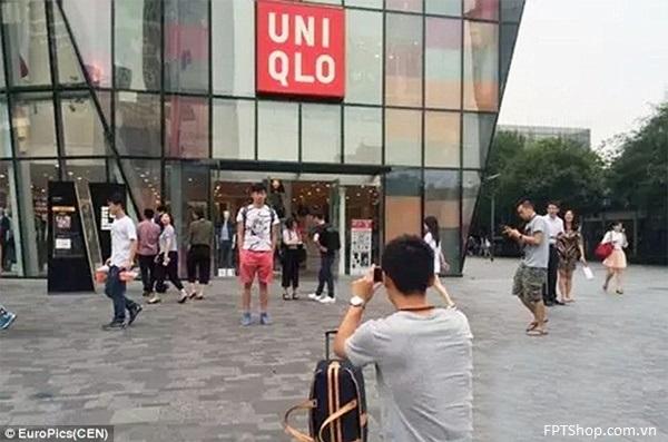 Khách hàng Uniqlo tăng đột biến chỉ để chụp ảnh