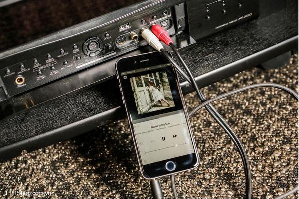 Kết nối với thiết bị stereo