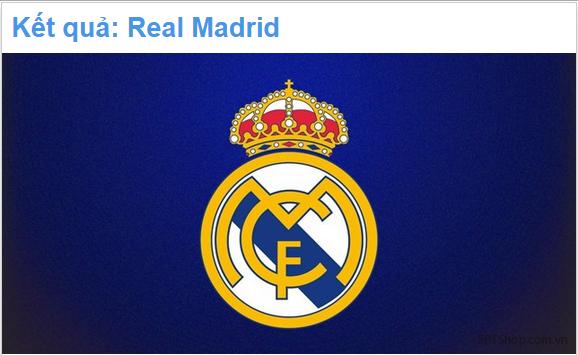 Kết quả ứng dụng Bạn sẽ đầu quân cho CLB bóng đá lừng danh nào
