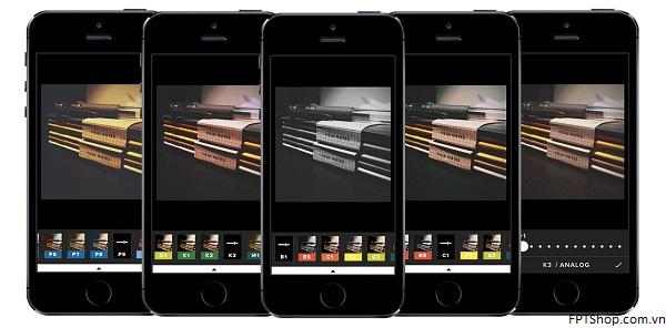 1. VSCO Cam - ứng dụng chỉnh sửa ảnh hấp dẫn người dùng