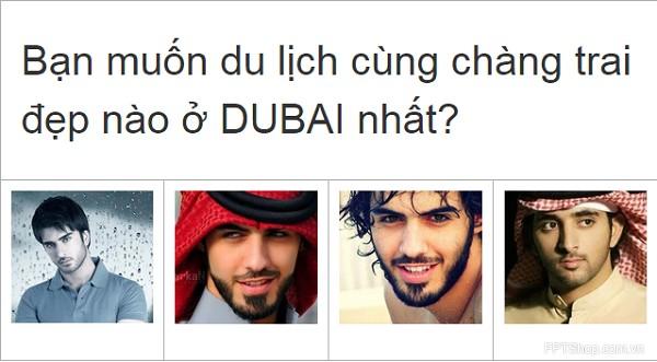 Xõa với ứng dụng Bạn sẽ ăn chơi như thế nào nếu ở Dubai