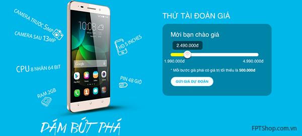 Huawei Honor 4C được hàng ngàn người Việt đón đợi
