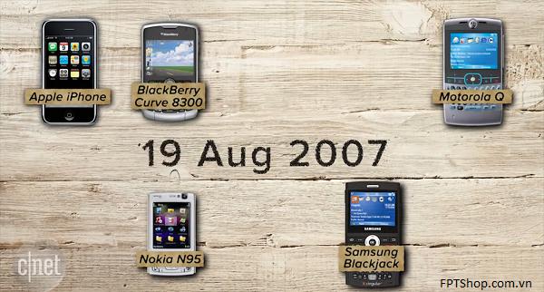 Khám phá lịch sử phát triển của smartphone từ năm 2007