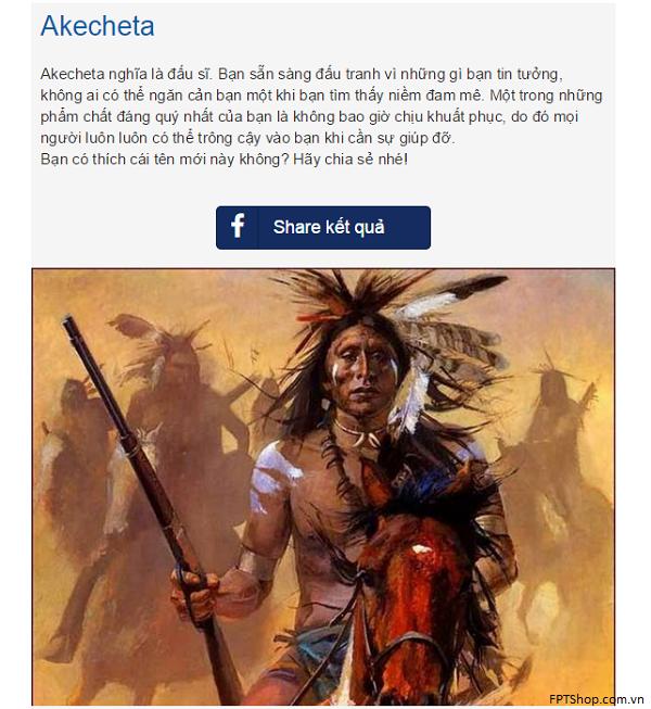 Hướng dẫn cách chơi ứng dụng vui để biết tên nếu bạn là một thổ dân da đỏ