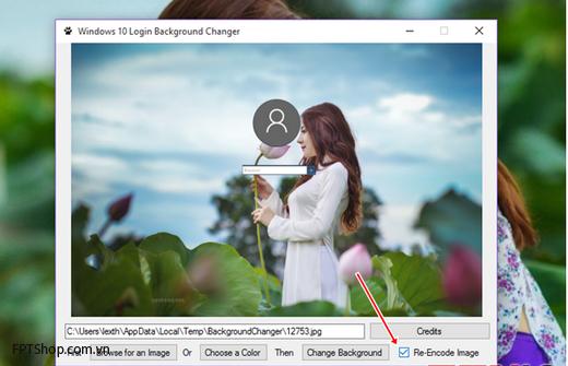 Thay hình nền đăng nhập ấn tượng cho Windows 10