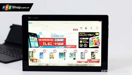 Màn hình 10 inch ấn tượng của Lenovo MiiX3-1030