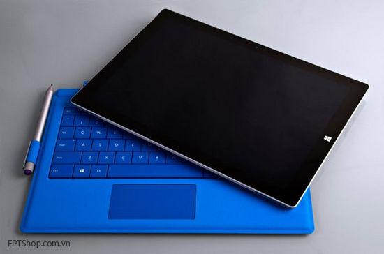Surface Pro 3 có thể tháo rời và sử dụng như một chiếc tablet