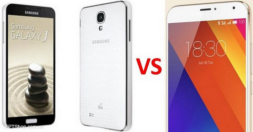 Samsung Galaxy J7 vs Meizu MX5