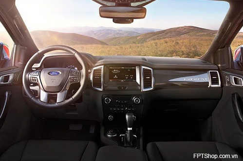 Nội thất của Ford Everest 2016